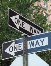 2 one way