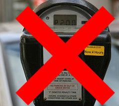 no parking meter