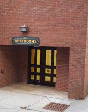 Saratoga Arts Public Bathroom