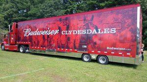 Budweiser Clydesdale Truck
