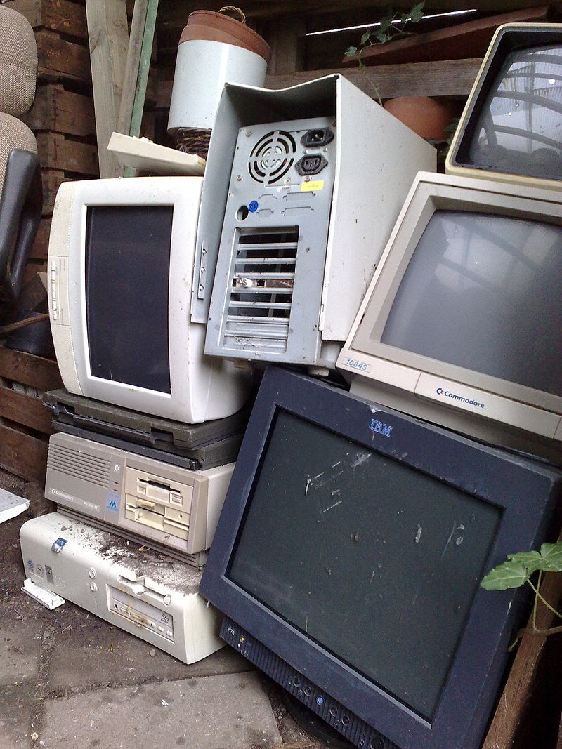 Get Rid of Old, Dusty, Crusty, E-Waste