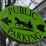 Public Parking in Saratoga Springs