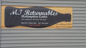 MT Returnables, locally owned business that makes returning cans and bottle SUPER EASY!
