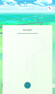 Empty Nearby Pokemon at Saratoga Race Course