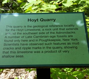 Hoyt Quarry in Saratoga Springs was