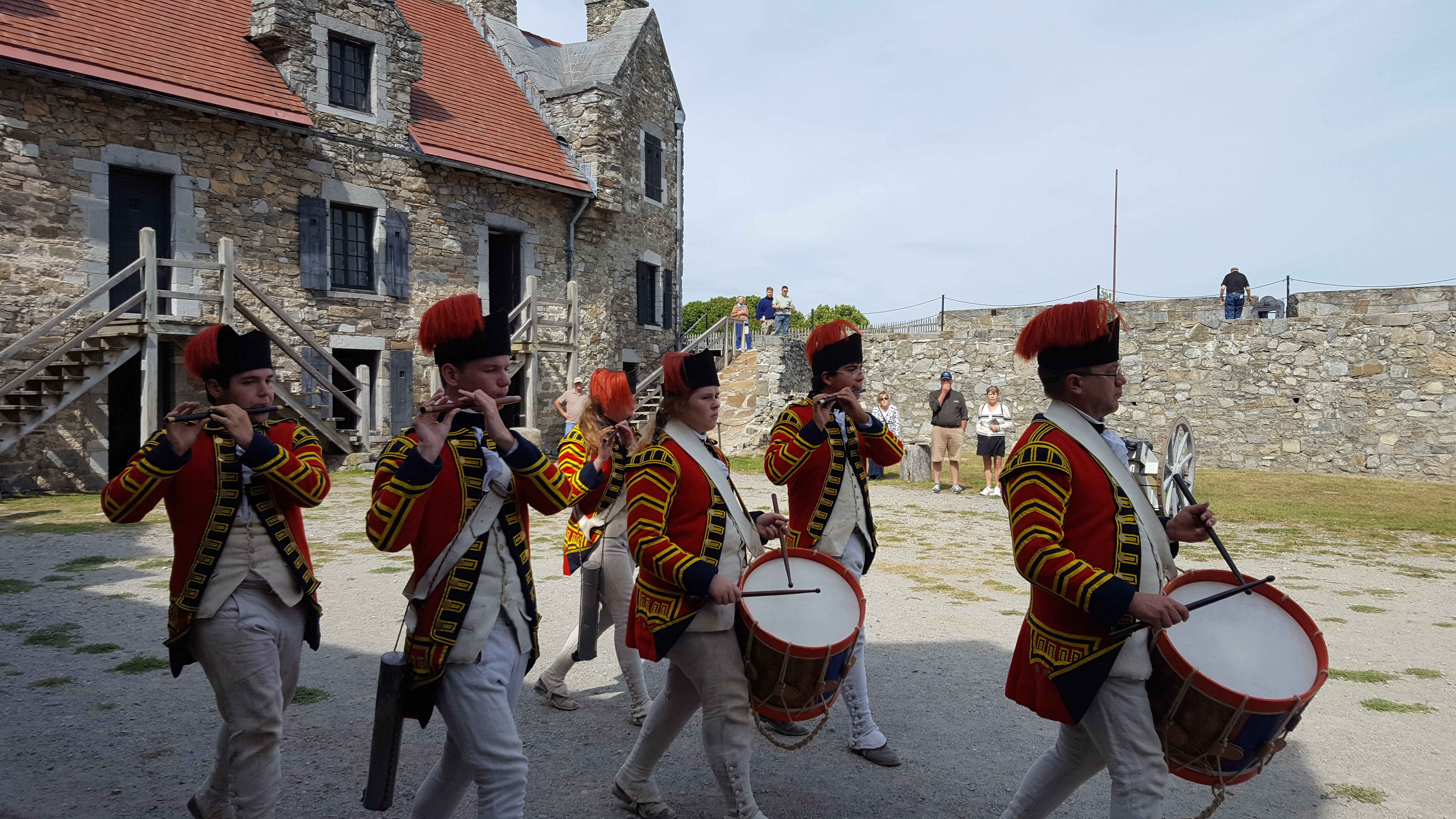 A Day Visit to Fort Ticonderoga